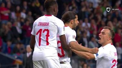 ¡GOOOL! Ricardo Rodríguez anota para Switzerland