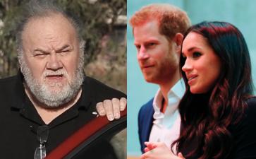 Los paparazzi no sueltan al suegro del príncipe Harry, ni siquiera cuando se le daña el 'carruaje'