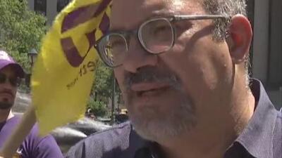 """""""Es algo muy triste"""": Funcionarios y trabajadores en Nueva York recuerdan el legado que dejó el líder sindical Héctor Figueroa"""