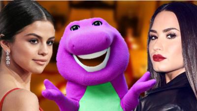 Barney (el dinosaurio de Demi Lovato y Selena Gomez) ahora es especialista en sexo tántrico