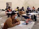 Centro de Capacitación del Valle Central: fueron a clases 16 semanas y varios de ellos ya tienen trabajo
