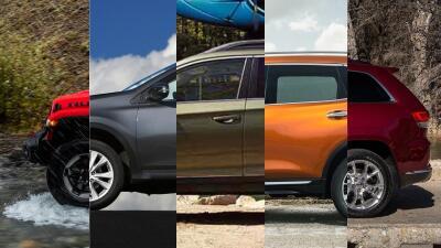 Las 10 SUVs y crossover más vendidas en EEUU durante la primera mitad de 2018