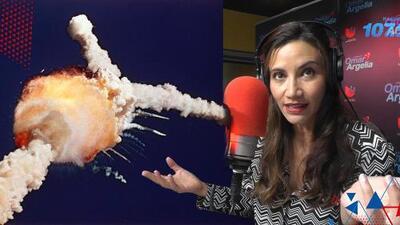 """""""El maestro se congeló"""": Argelia recordó cuando vio en vivo la explosión del Challenger en la escuela"""