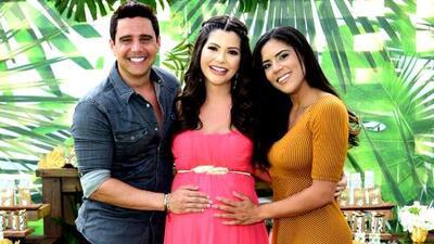 Francisca se fue al baby shower de Ana Patricia con Alejandro Chabán (el novio italiano andaba en otra cosa)