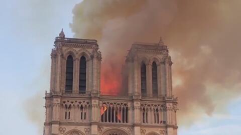 #TeCuento: incendio de la catedral de Notre Dame conmociona al mundo