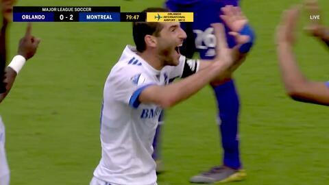 El argentino Ignacio Piatti guió la victoria de Montreal con un doblete en Orlando