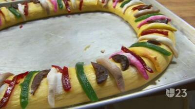 Panaderías en Dallas ofrecen la tradicional rosca de reyes