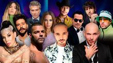 Pitbull, J Balvin, Ricky Martin y más: los artistas que te harán vibrar con sus actuaciones en los Latin GRAMMY 2020
