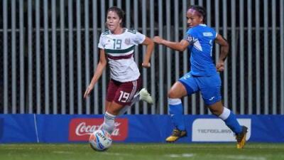 El Tri Femenil golea 4-0 a Nicaragua en los Juegos Centroamericanos