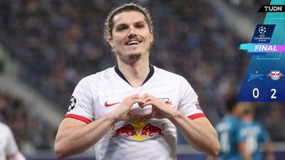 Leipzig venció al Zenit y es más líder que nunca en el grupo G