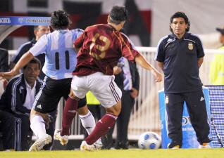 Historia de la rivalidad entre Argentina y Venezuela