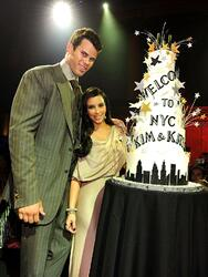 NEW YORK, NY - AUGUST 31: NBA player Kris Humphries (L) and TV personality Kim Kardashian attend A Night of Style & Glamour to welcome newlyweds Kim Kardashian and Kris Humphries at Capitale on August 31, 2011 in New York City. (Photo by Dimitrios Kambouris/Getty Images)