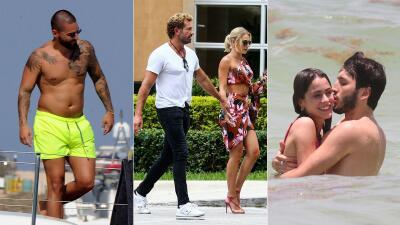 EN FOTOS: Así fueron las vacaciones de los famosos con amores, mar y lujos
