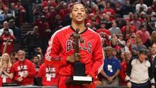 Derrick Rose, el jugador más valioso y más joven de la NBA