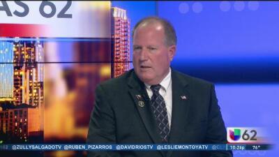 El candidato libertario a la gubernatura de Texas habla de sus prioridades legislativas y la relación México-EEUU