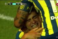 El mexicano Luca Martínez se estrena como goleador en Argentina