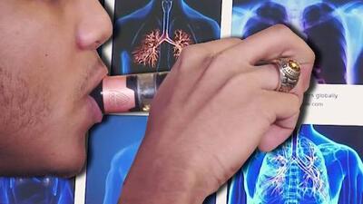 Nuevo estudio sobre los cigarrillos electrónicos revela el impacto que tiene en los pulmones