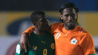 ¡Leyendas al rescate! Droga y Eto'o serán colaboradores del fútbol africano
