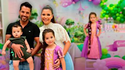 Arcoíris, flores y color para celebrar a Giulietta: Ana Patricia armó una gran fiesta de cumpleaños para su princesa