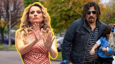 A Elizabeth Álvarez no le gusta la nueva imagen de Jorge Salinas