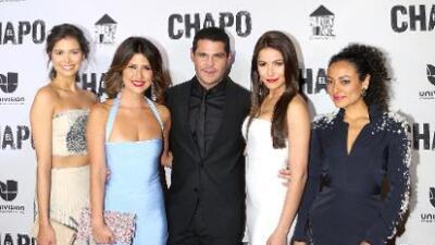 Así fue la premiere de la serie 'El Chapo' en Los Ángeles