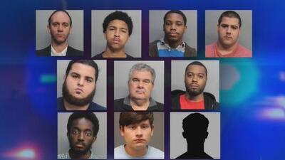 Arrestan a 10 personas acusadas de pertenecer a una red de pornografía infantil en el sur de Florida