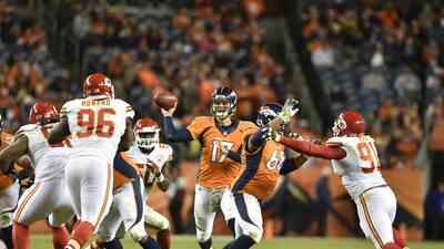 Gary Kubiak está cómodo con Brock Osweiler de QB titular en los Broncos