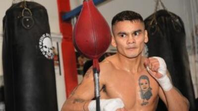 Marcos 'Chino' Maidana entrena en México