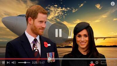 El príncipe Harry y Meghan Markle ponen en pausa su luna de miel