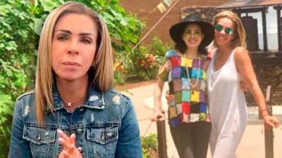 """Rocío Sánchez Azuara agradece el apoyo para su hija que está grave y dice que """"tiene muchas ganas de vivir"""""""