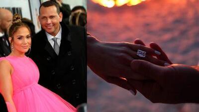 JLo recibe su quinto anillo de compromiso
