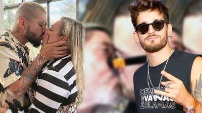 Primero Maluma y ahora Ricky, de Mau & Ricky, besa en la boca a sus padres (sí a Ricardo Montaner)