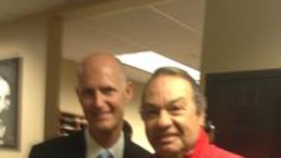 Gobernador Scott con Humberto Cortina: Desempleo en Florida baja a 6.2%