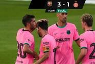 Con goles de Messi y Coutinho, Barcelona venció al Girona