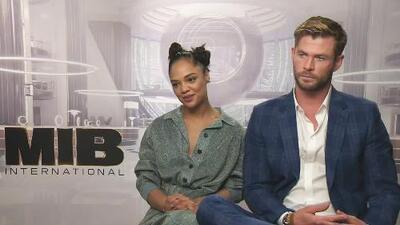 Chris Hemsworth y Tessa Thompson revelan si hubo presión o no al ser protagonistas de 'Men in Black International'