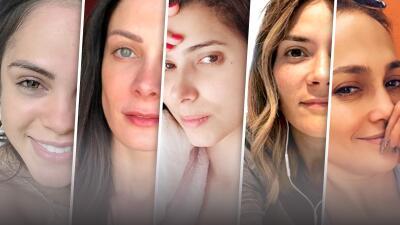 Inspiradas por Kany García, estas famosas se muestran en internet sin chispa de maquillaje