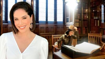 Karla Martínez se sintió como en una película de 'Harry Potter': las fotos de sus vacaciones por el Reino Unido