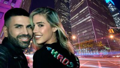 """Jomari Goyso pasa una divertida noche con su """"hermanita"""" Michelle Salas en Nueva York"""