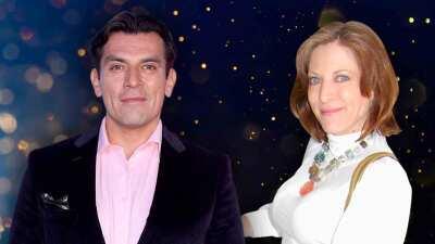 Jorge Salinas y Andrea Noli estuvieron juntos otra vez y así reaccionaron