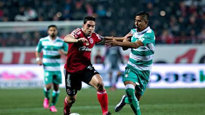Tijuana 1-3 Santos: Santos amarra a Xolos de visita