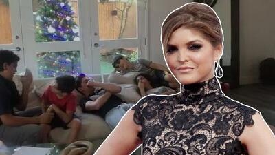 Ana Bárbara regañó a sus hijos y a los de Mariana Levy por irrespetuosos