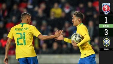 ¡Volvió el 'Jogo Bonito'! Brasil derrotó a República Checa y es favorito para la Copa América
