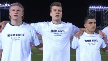 La FIFA no abrirá expediente por mensaje en camisetas Noruega