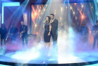 Laura Pausini y Alex Ubago erizaron la piel