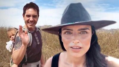 La hija de Aislinn Derbez y Mauricio Ochmann solo pidió una cosa en un acalorado paseo en la montaña