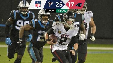 Falcons intercambia papeles y remonta a Panthers
