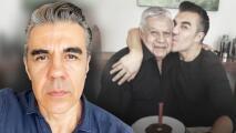 """""""Así de cruel es"""": Adrián Uribe revela que  el covid-19 acabó en una semana con su padre"""