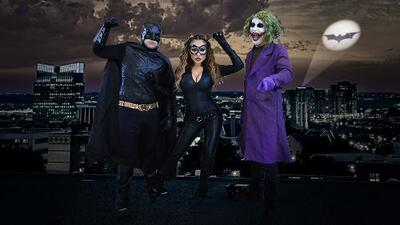 En Halloween tuvimos un Bati-Free-guey Show
