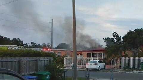 Registran una explosión en vivienda del noroeste de Miami-Dade, Florida