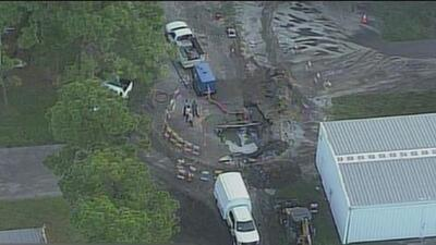 Ruptura de una tubería deja sin agua potable a miles de residentes de Fort Lauderdale